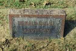 Donald Duval Hamilton