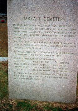 Jarratt Cemetery