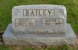 Minter X. Bailey