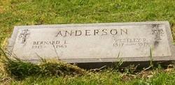 Bernard L Anderson