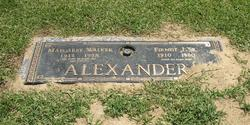 Margaret Abigail <i>Walker</i> Alexander