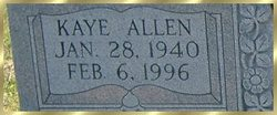 Kaye Allen <i>Dixon</i> Davis