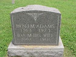 Ida M <i>Bridges</i> Adams
