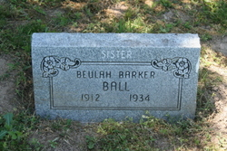 Beulah <i>Barker</i> Ball
