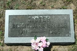 Bessie Jane Barker