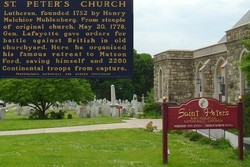 Saint Peter Evangelical Lutheran Church Cemetery