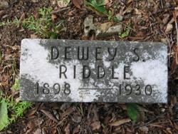 Dewey S Riddle
