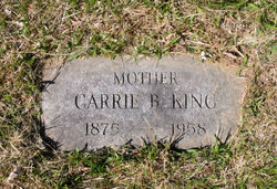 Carrie Bell <i>Corwin</i> King