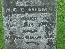 Nimrod Columbus E. Adams