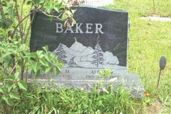 Alger R Baker