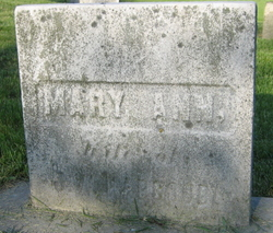 Mary Ann <i>Wells</i> Hapgood