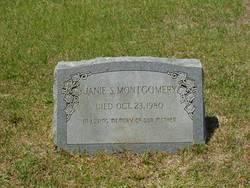 Janie S Montgomery