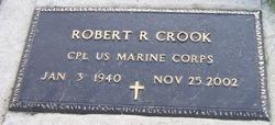Robert R Bob Crook