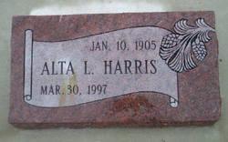 Alta Stoddard <i>Leavitt</i> Harris