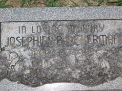 Josephine Bell Jo <i>Stanley</i> Ackerman