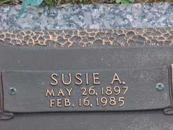 Susie M. <i>Alford</i> Layfield