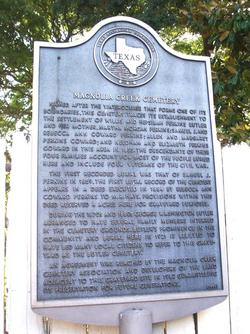 Magnolia Creek Cemetery