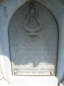 William H. G. Maxwell