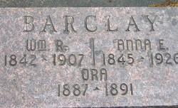 Anna E. <i>Tuggle</i> Barclay