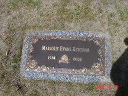 Marjorie <i>Evans</i> Ketcham