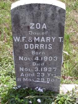 Zoa Dorris