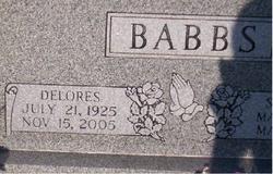 Delores Irene <i>Bishop</i> Babbs