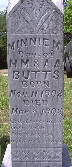 Minnie M. Butts