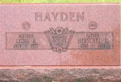 Lydia Alfreta <i>Bailey</i> Hayden