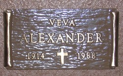 Veva Katharine <i>Williams</i> Alexander