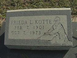Frieda Augusta Louise <i>Stalbaum</i> Kotte