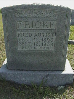 Fred August Fricke