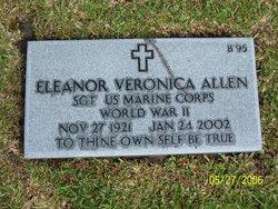 Sgt Eleanor Veronica Allen