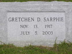 Gretchen <i>Drane</i> Sarphie