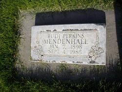 Ruth <i>Perkins</i> Mendenhall
