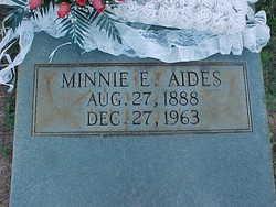 Minnie E. Aides
