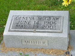 Geneva E. <i>McGraw</i> Abernathy