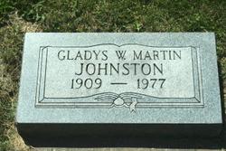 Gladys W. <i>Martin</i> JOHNSTON