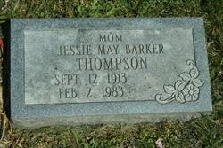 Jessie May <i>Barker</i> THOMPSON