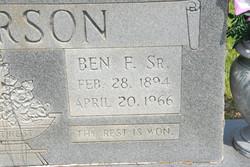 Ben F. Alverson, Sr