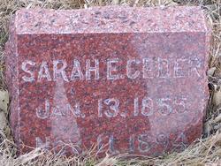 Sarah E <i>Fuller</i> Ceder