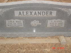Lola Mae <i>Cockrell</i> Alexander