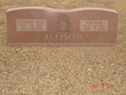 Marion Huel Allison