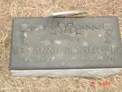 Anne Catherine Annie <i>Newsom</i> Blankenship