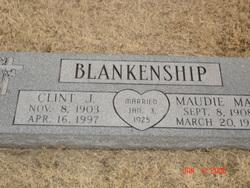 Maudie Mae <i>Conner</i> Blankenship