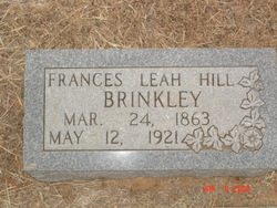 Frances Leah <i>Hill</i> Brinkley