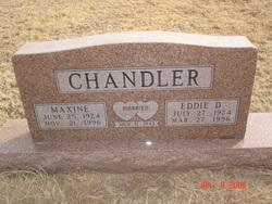 Nannie Maxine <i>Martin</i> Chandler