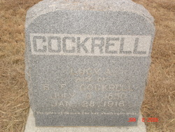 Lucy Alford <i>Connell</i> Cockrell