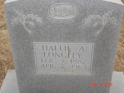 Hallie Ann <i>Farr</i> Longley