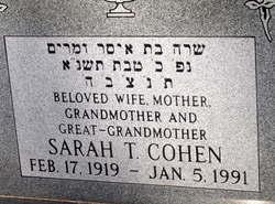 Sarah T. Cohen