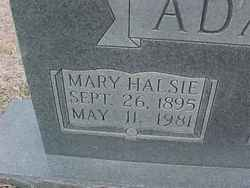 Mary Halsie <i>Willoughby</i> Adams